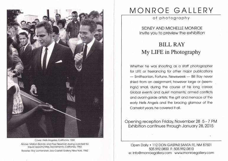 Monroe Gallery Invitation
